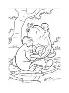 Winnie pooh da colorare 6