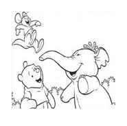 Winnie pooh da colorare 8