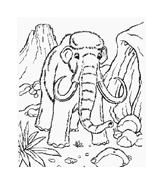 Elefante da colorare 23