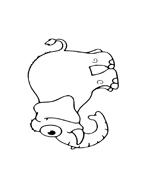 Elefante da colorare 67