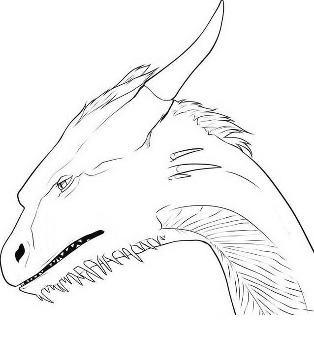Eragon da colorare 6