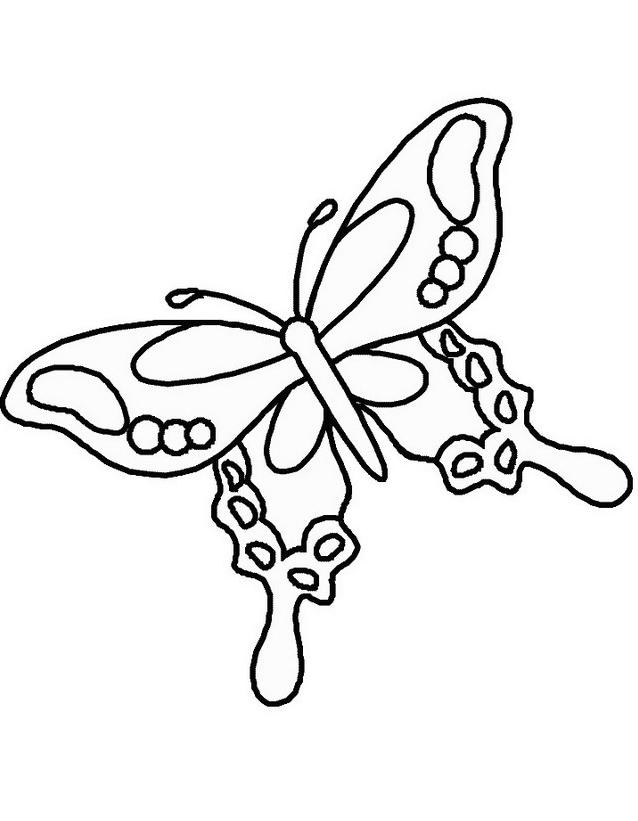 Farfalla da colorare 17
