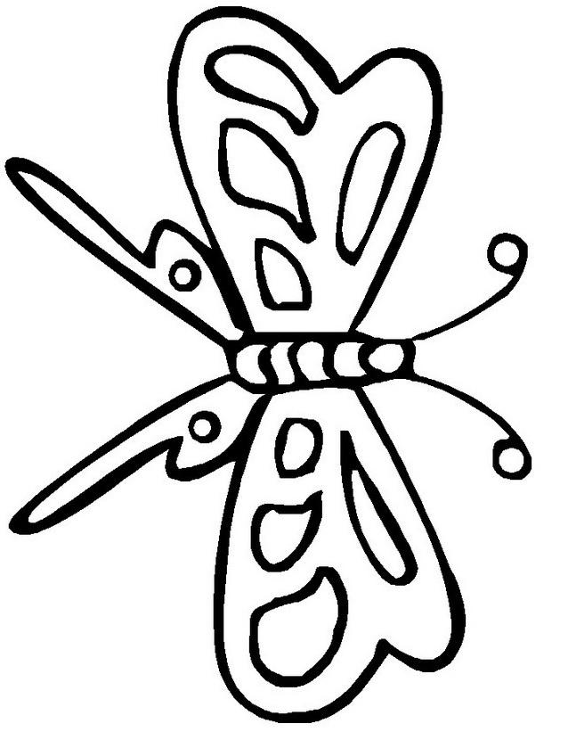 Farfalla da colorare 23