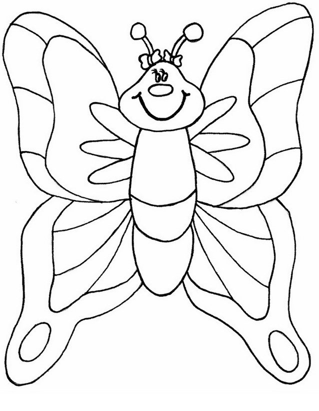Farfalla da colorare 26