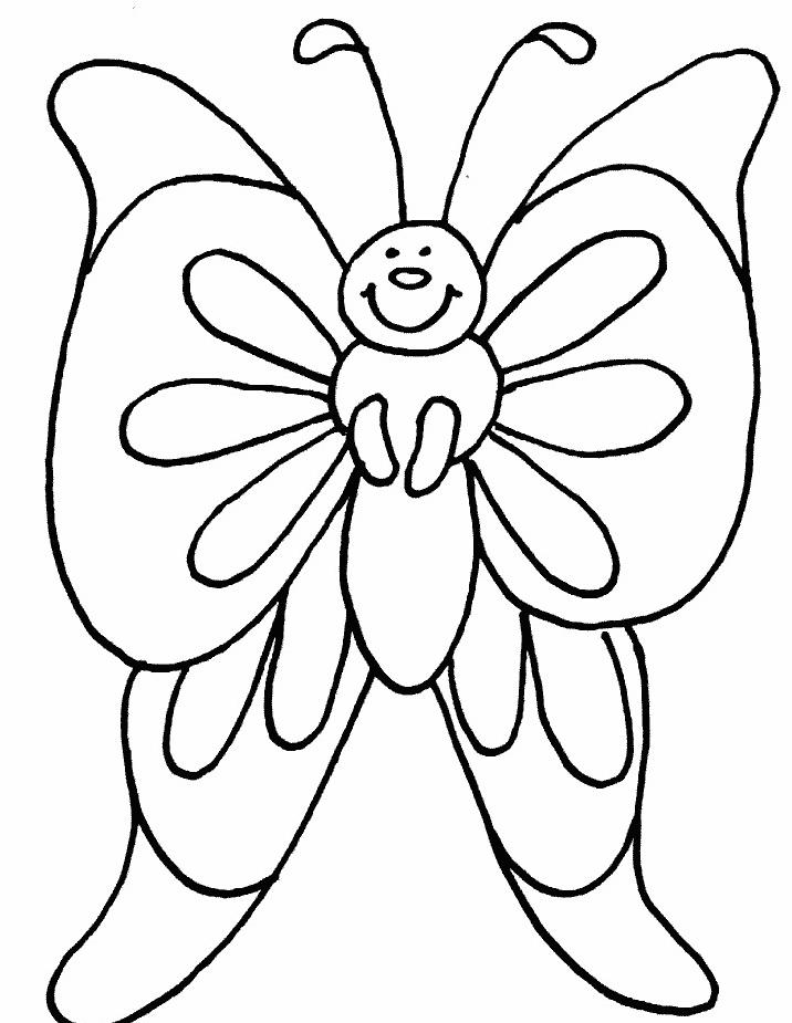 Farfalla da colorare 31