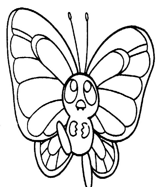 Farfalla da colorare 42