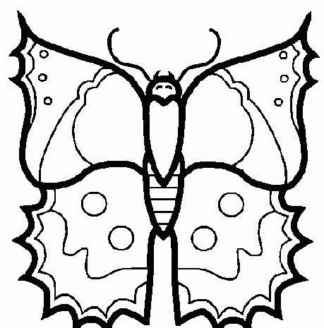 Farfalla da colorare 45