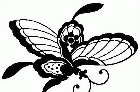 Farfalla da colorare 46