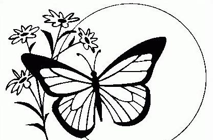 Farfalla da colorare 47