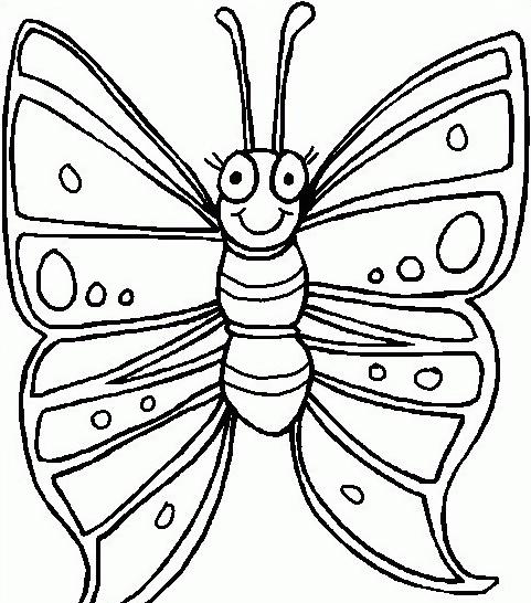 Farfalla da colorare 48