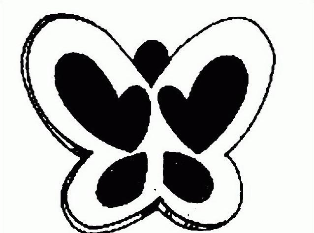 Farfalla da colorare 51