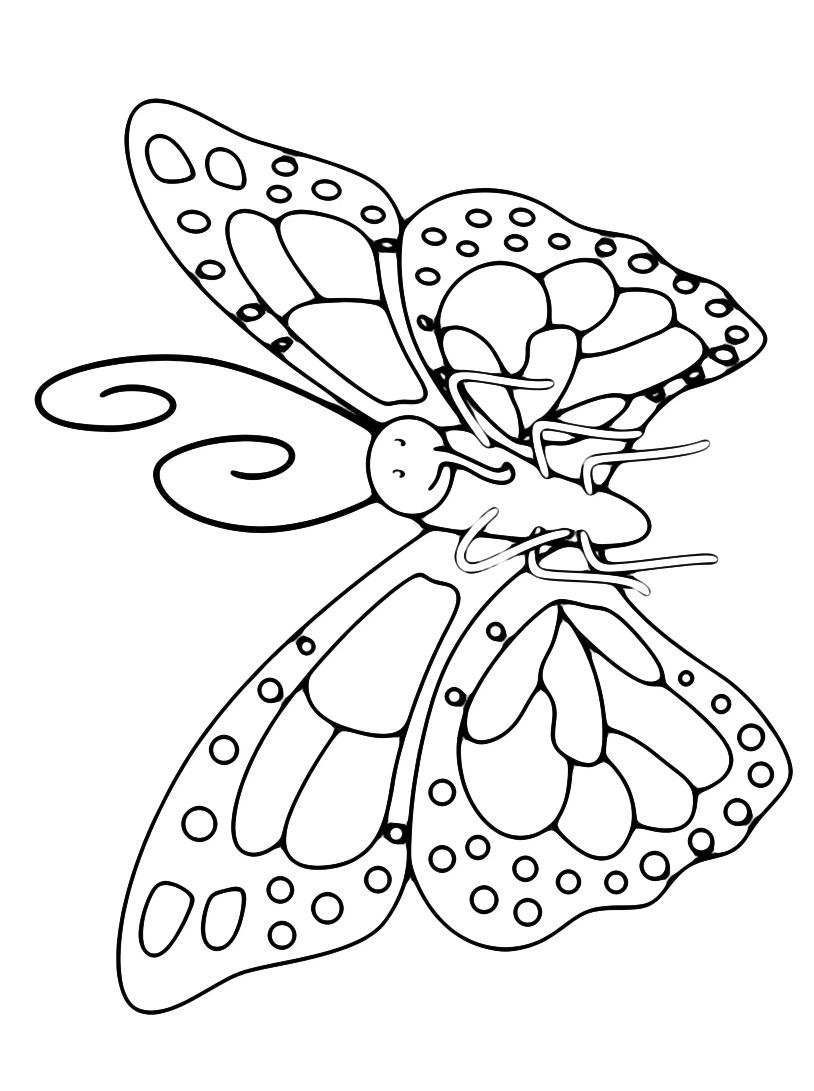 Farfalla da colorare 97