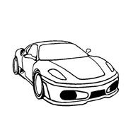 Automobile da colorare 235