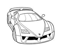 Automobile da colorare 237
