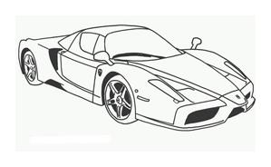 Automobile da colorare 239