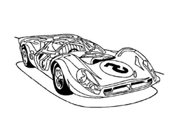 Automobile da colorare 242