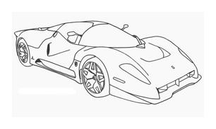 Automobile da colorare 243