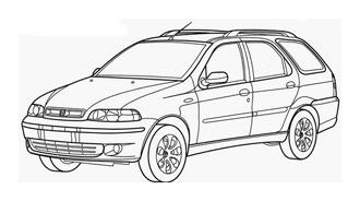 Automobile da colorare 244