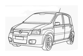 Automobile da colorare 245