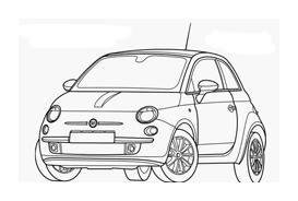 Automobile da colorare 246