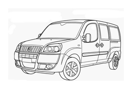 Automobile da colorare 250