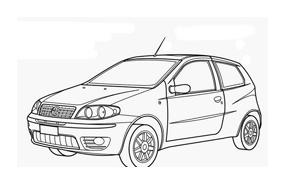 Automobile da colorare 253