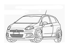 Automobile da colorare 254
