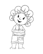 Fifi flowertots da colorare 20