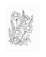 Fiore da colorare 53