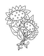 Fiore da colorare 59