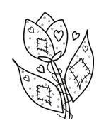 Fiore da colorare 62