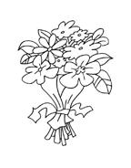 Fiore da colorare 64