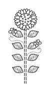Fiore da colorare 76