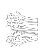 Fiore da colorare 84