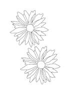 Fiore da colorare 85