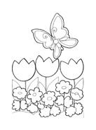 Fiore da colorare 91