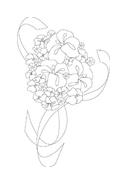 Fiore da colorare 92