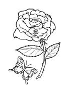 Fiore da colorare 101