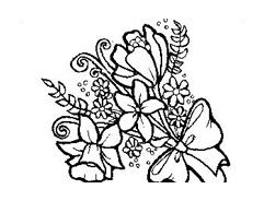 Fiore da colorare 120