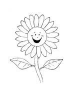 Fiore da colorare 140