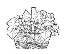 Fiore da colorare 142