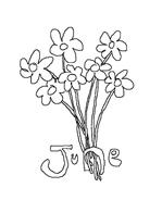 Fiore da colorare 150