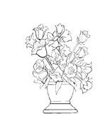 Fiore da colorare 179
