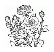 Fiore da colorare 188
