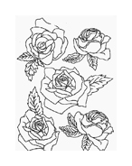 Fiore da colorare 192