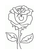 Fiore da colorare 196