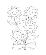 Fiore da colorare 200