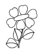 Fiore da colorare 201