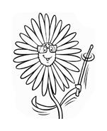 Fiore da colorare 217