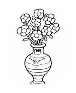 Fiore da colorare 219